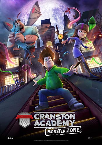 دانلود انیمیشن دوبله فارسی مدرسه کرانستون: منطقه هیولا Cranston Academy: Monster Zone 2020