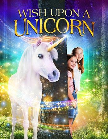 دانلود فیلم زیرنویس فارسی چسبیده تک شاخ آرزویت را برآورده می کند Wish Upon A Unicorn 2020