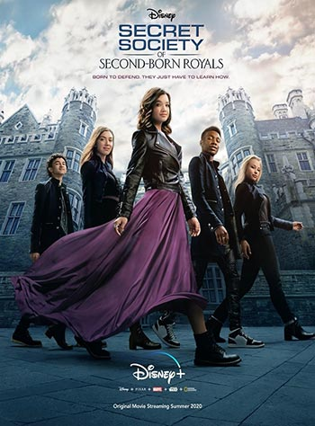 دانلود فیلم زیرنویس فارسی چسبیده جامعه مخفی فرزندان دوم Secret Society of Second Born Royals 2020