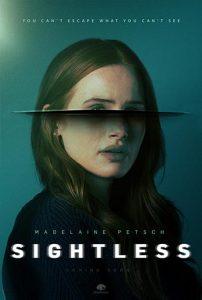 دانلود فیلم زیرنویس فارسی چسبیده نابینا Sightless 2020 دوبله فارسی
