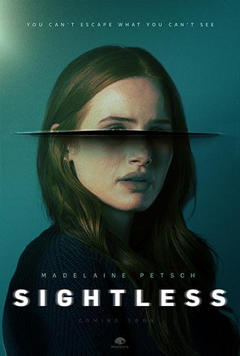 دانلود فیلم زیرنویس فارسی چسبیده نابینا Sightless 2020