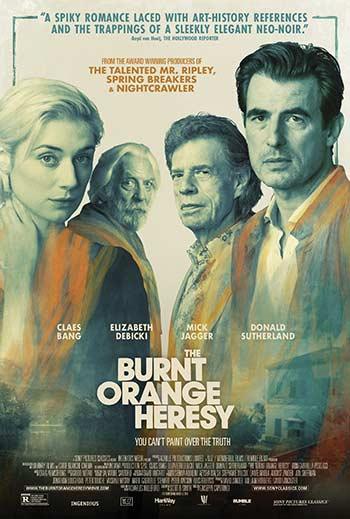 دانلود فیلم زیرنویس فارسی چسبیده نارنجی سوخته The Burnt Orange Heresy 2019