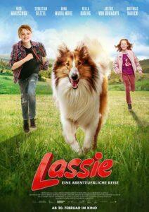 دانلود فیلم زیرنویس فارسی چسبیده لسی بیا خونه Lassie Come Home 2020