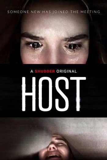 دانلود فیلم زیرنویس فارسی چسبیده میزبان Host 2020