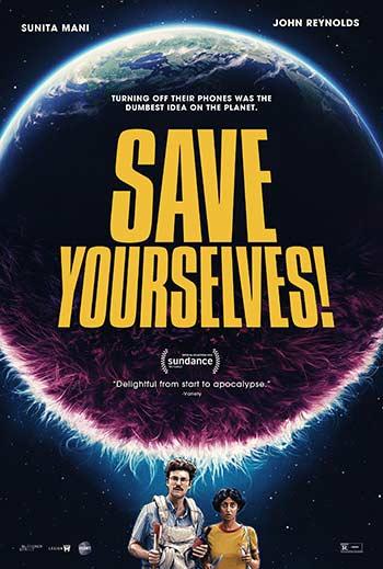 دانلود فیلم زیرنویس فارسی چسبیده خودتون رو نجات بدین Save Yourselves 2020