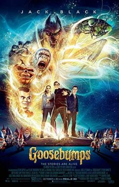 دانلود فیلم دوبله فارسی Goosebumps 2015