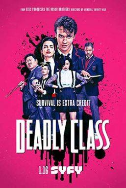 دانلود سریال دوبله فارسی Deadly Class