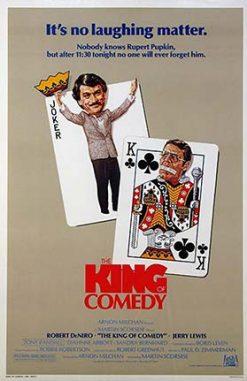 دانلود فیلم شاه کمدی The King of Comedy 1982