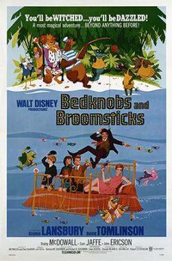دانلود انیمیشن تختخواب سحرآمیز دوبله فارسی Bedknobs and Broomsticks 1971
