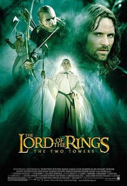 دانلود فیلم دوبله فارسی The Lord of the Rings The Two Towers 2002 زیرنویس فارسی چسبیده