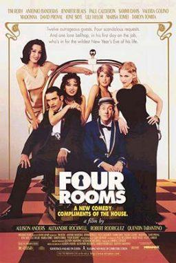 دانلود فیلم چهار اتاق Four Rooms 1995